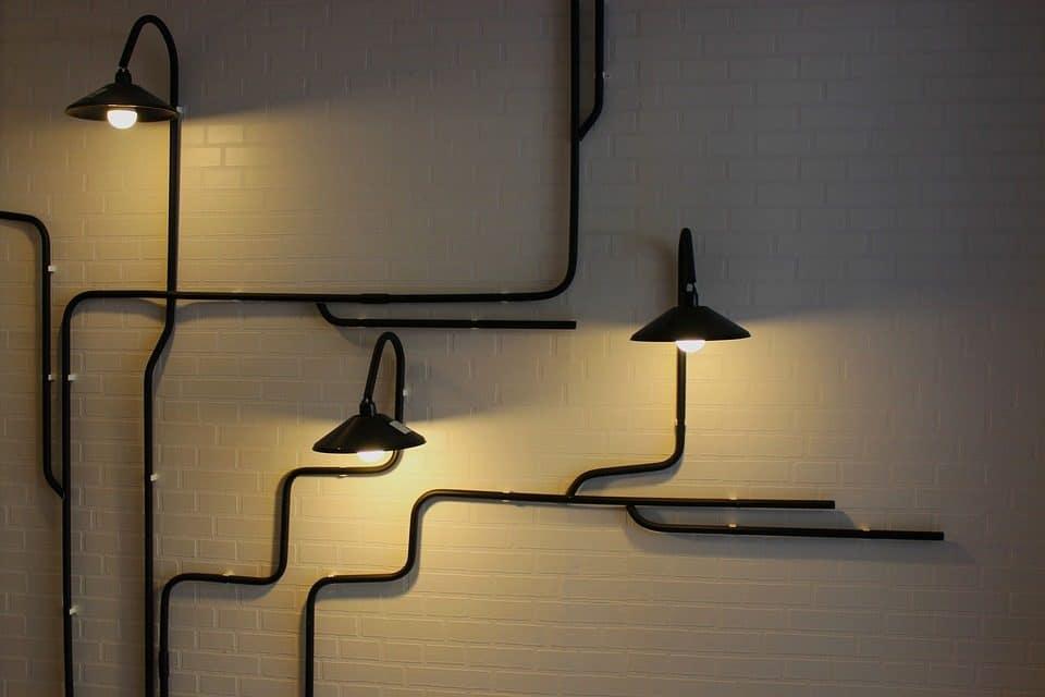Wandverlichting plaatsen