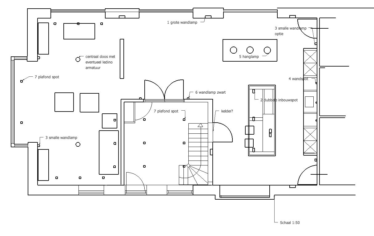 Hoe maak ik een lichtplan huisentuinmagazine for Plattegrond woning