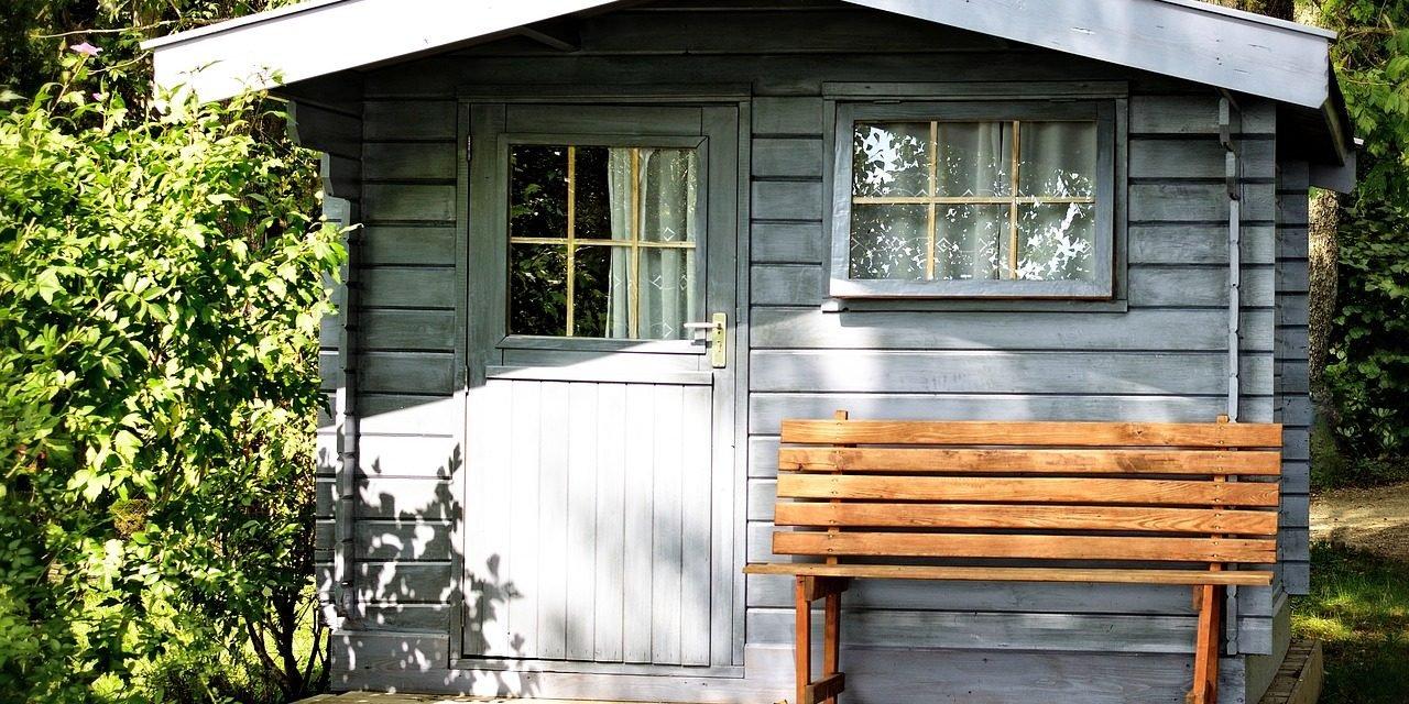 Een winterklaar tuinhuisje