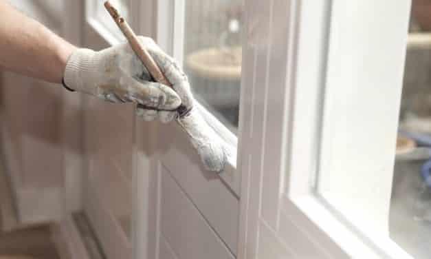 Binnendeur verven