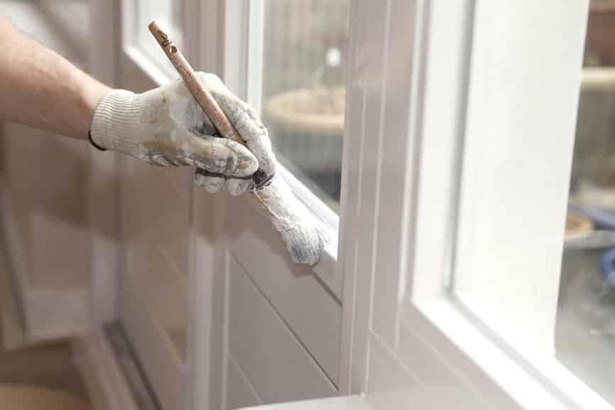 Binnendeur verven huisentuinmagazine - Schilderen muur trap ...