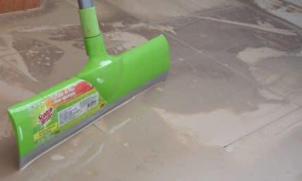 Cementresten verwijderen