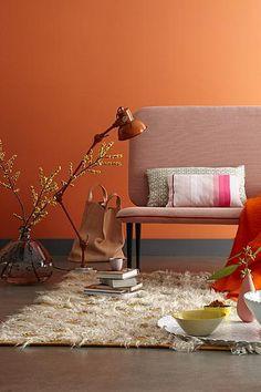 koper oranje schilderen