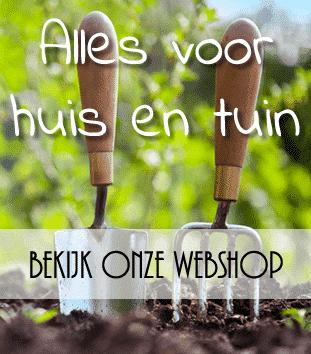Bezoek onze tuinshop!