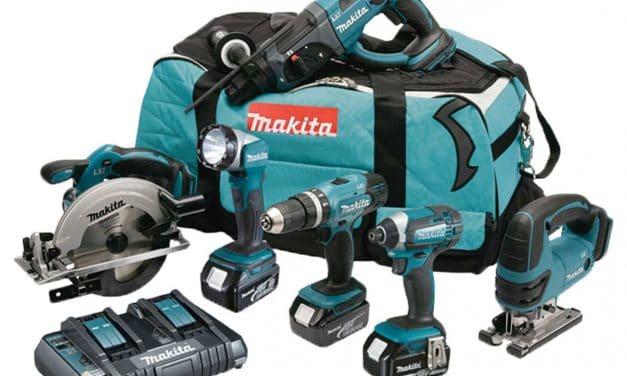 Een complete Makita set voor iedere klus