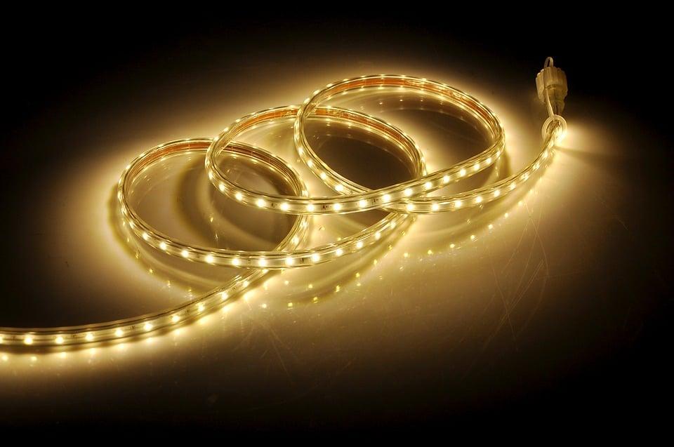 Een flexibel lint met ledlampjes
