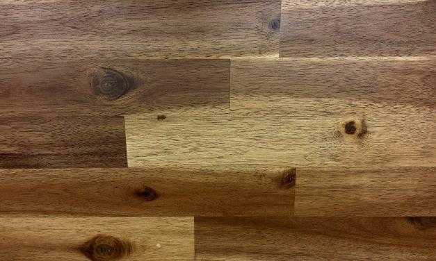 Een mooie nieuwe vloer van PVC